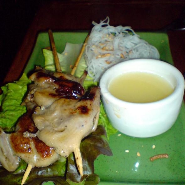 Chicken satay - Three Seasons, Palo Alto, CA