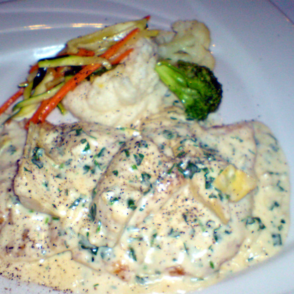 Halibut - Vaso Azzurro, Mountain View, CA