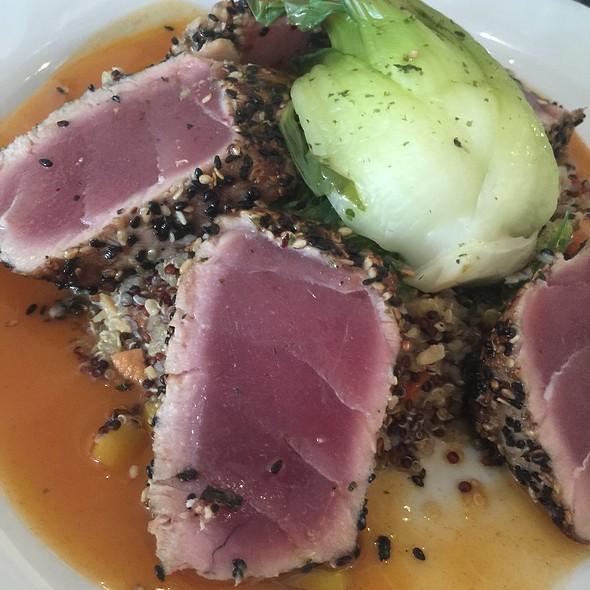Sesame Crusted Ahi Tuna - Poached Pear Bistro, Point Pleasant Beach, NJ
