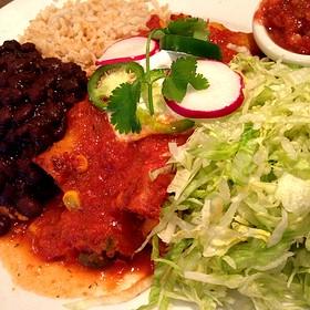 Vegetable Enchiladas - Good Earth Edina, Edina, MN