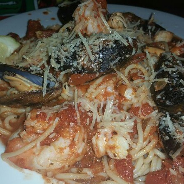 Seafood Pasta - F. McLintocks Saloon & Dining House, Pismo Beach, CA