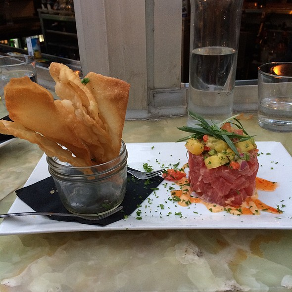 Tuna Tartare - Bridge House Tavern, Chicago, IL
