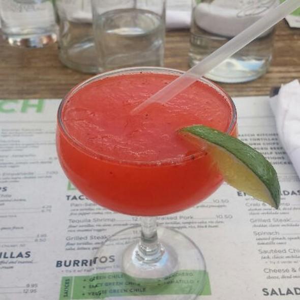 Mini Strawberry Margherita - Rio Grande Mexican Restaurant - Boulder, Boulder, CO