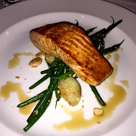 Citrus Glazed Salmon - The Capital Grille - Milwaukee, Milwaukee, WI