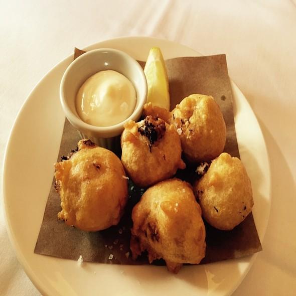 Blue Crab Beignets - La Petite Grocery, New Orleans, LA