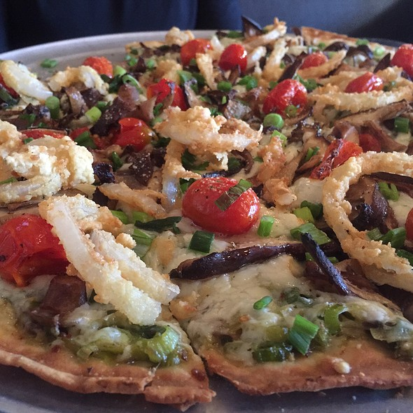 Wild Mushroom Pizza - Zaffiro's - Mequon, Mequon, WI