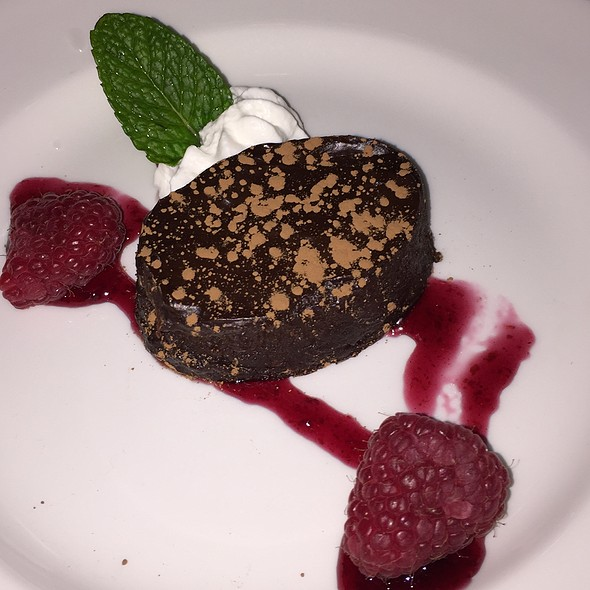 flourless chocolate cake - The Capital Grille - Milwaukee, Milwaukee, WI