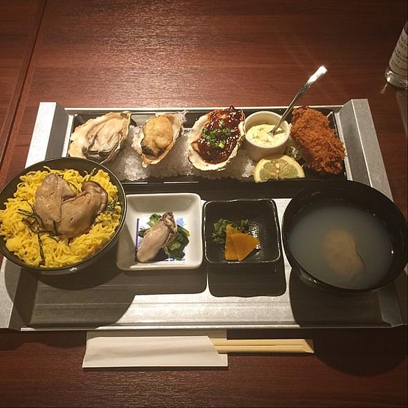 牡蠣尽くし御膳 - カーブ・ド・オイスター, 中央区, 東京都