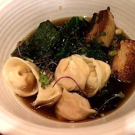 Louisiana Shrimp Dumplings With Pork Belly - Borgne, New Orleans, LA