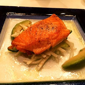 Hot Smoked Salmon - Blue Ridge Grill, Atlanta, GA