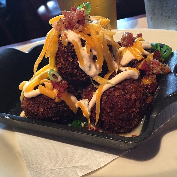 Loaded Mashed Potato Balls - Walnut Brewery, Boulder, CO