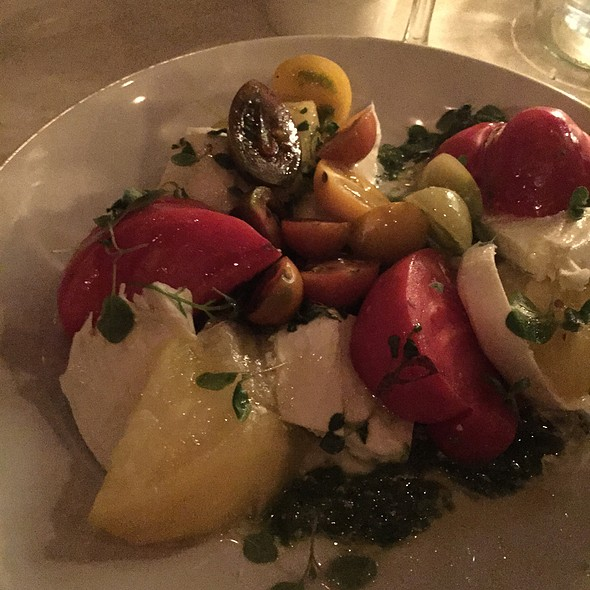 Tomato Barrata Salad - Edendale, Los Angeles, CA