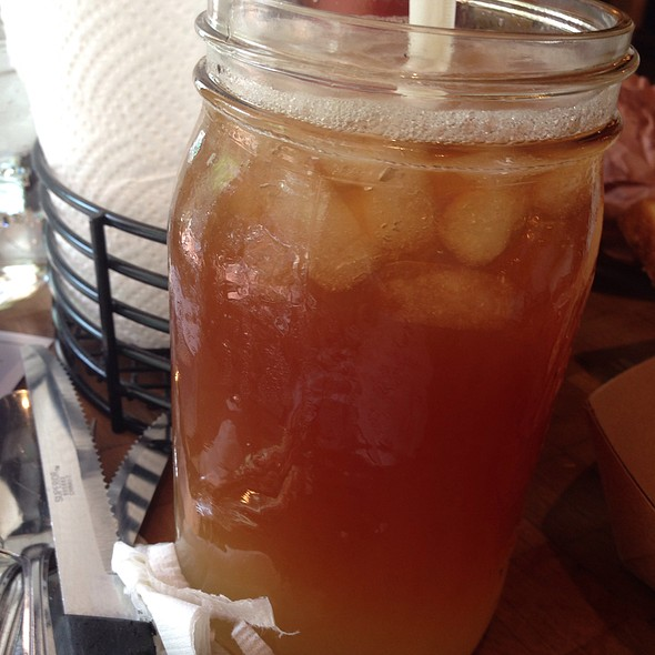 Arnold Palmer - Hill Country Barbecue Market - DC, Washington, DC