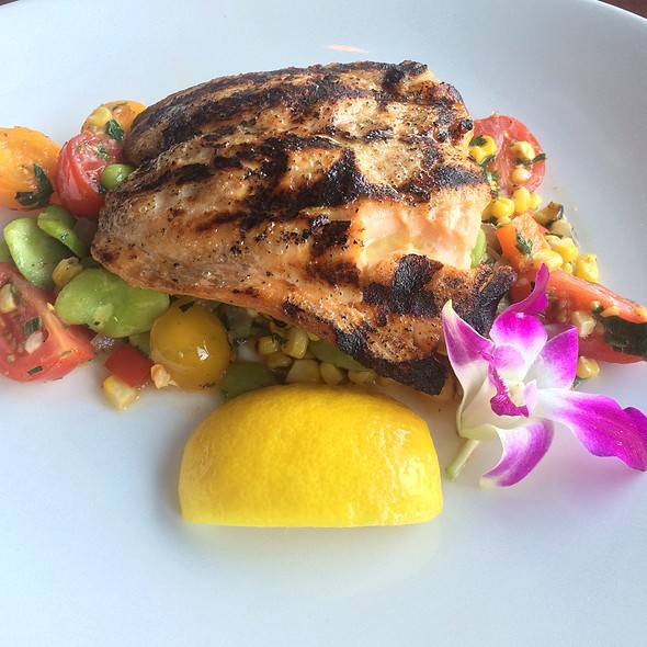 Grilled Salmon - Ouzo Bay, Baltimore, MD