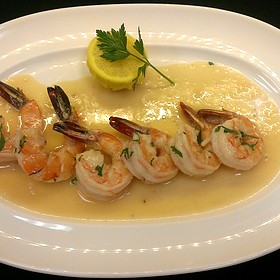 Shrimp Scampi - The Broiler Steak & Seafood - Boulder Station Hotel & Casino, Las Vegas, NV