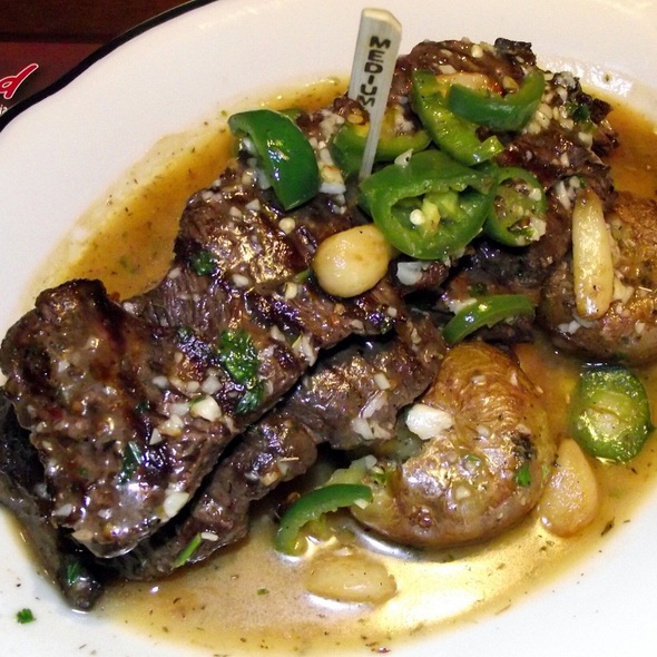 Skirt Steak Valasco - Rosebud Italian Specialties & Pizzeria, Naperville, IL