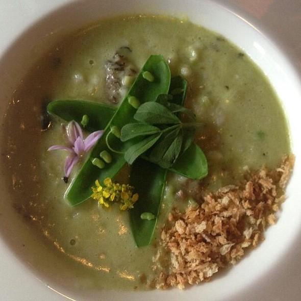 Green Garlic Risotto - 1313 Main, Napa, CA