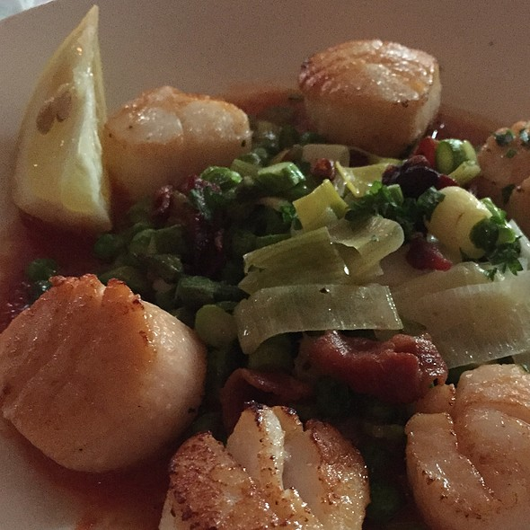 Seared Scallops - Witherspoon Grill, Princeton, NJ