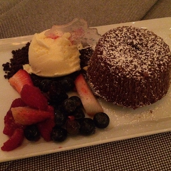Chocolate Lava Cake - PY Steakhouse, Tucson, AZ