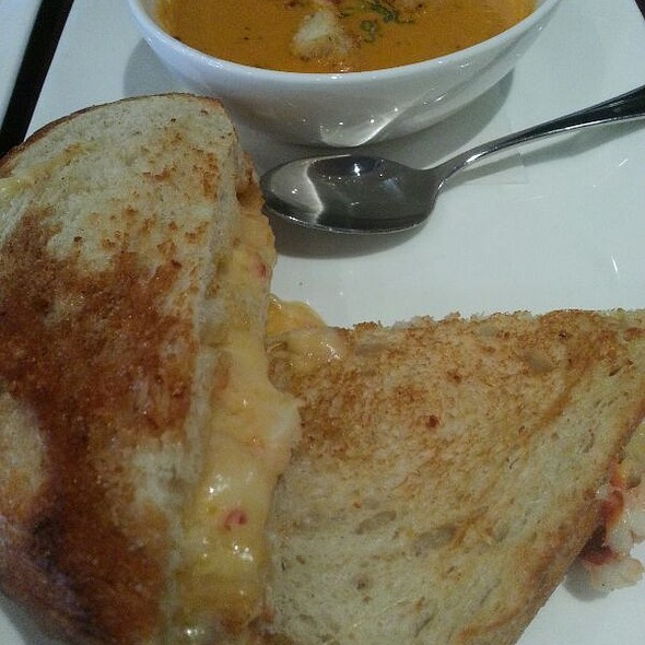 Lobster & Brie Grilled Cheese on Sourdough - Tommy Bahama Laguna Beach Bar & Grill, Laguna Beach, CA