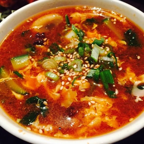 Spicy Kalbi Soup - Gyu-Kaku - Topanga Canyon, Canoga Park, CA