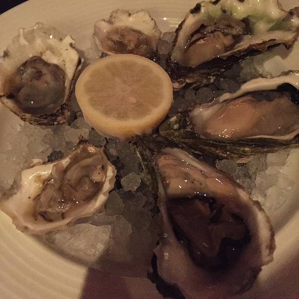 Assorted Oysters - Westend Bistro DC, Washington, DC