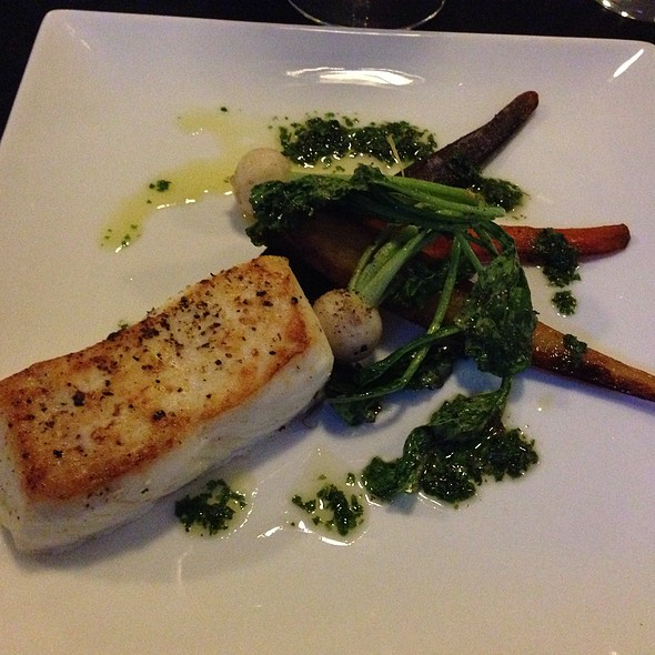 Pan Roasted Halibut - Beecher's – The Cellar, New York, NY
