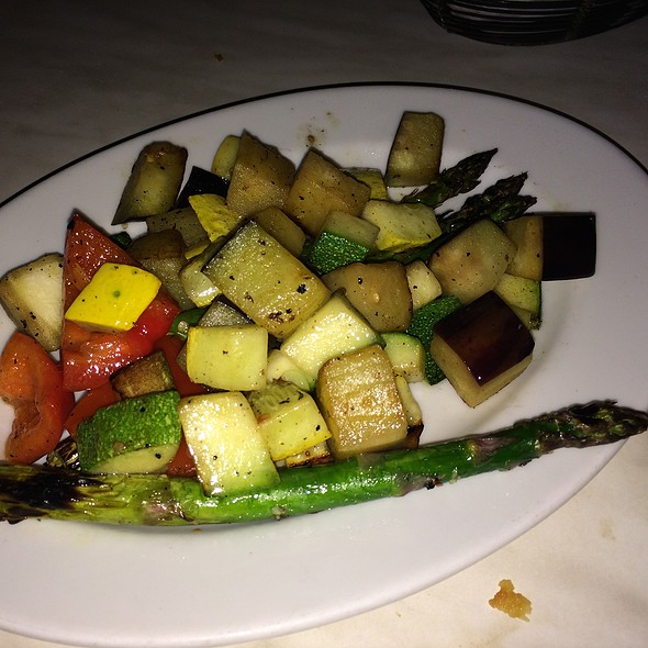 Roasted Seasonal Vegetables - The Daily Catch Seaport, Boston, MA