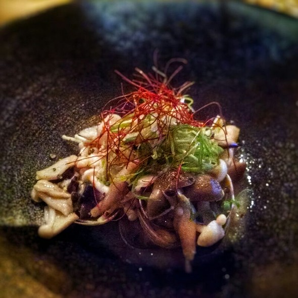 Asari Sakamushi with Mushrooms - ShinBay, Scottsdale, AZ