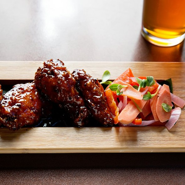 Honey-Jerk Wings - NIOS, New York, NY