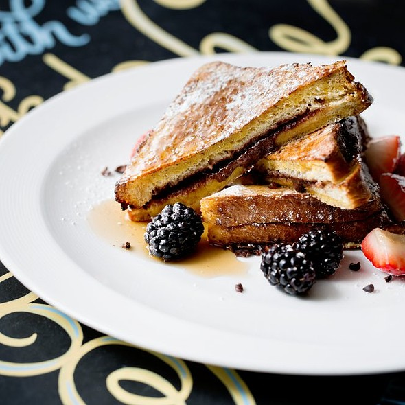 Stuffed French Toast - NIOS, New York, NY