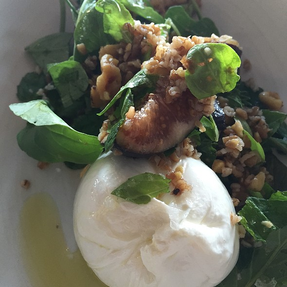 Handmade Burrata - CRU Nantucket, Nantucket, MA
