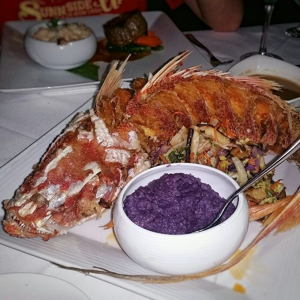 Whole Crispy Fried Red Snapper - Pa'akai, North Shore, HI