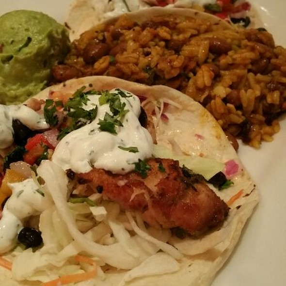 fish tacos - Stanford Grill, Columbia, MD
