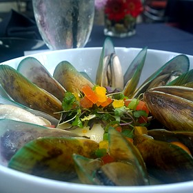 Mussels - Spencer's Restaurant, Palm Springs, CA