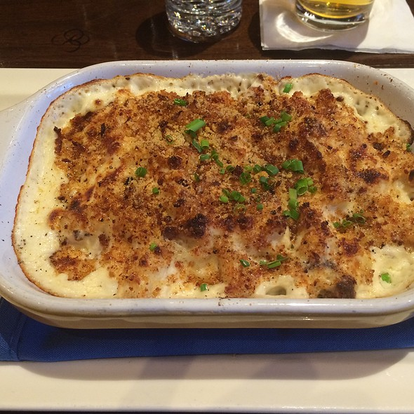 Baked Seafood Mac And Cheese - ORSO, Anchorage, AK