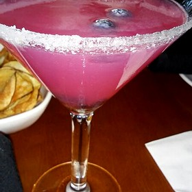 Blueberry Lemon Drop - Fleming's Steakhouse - Tampa, Tampa, FL