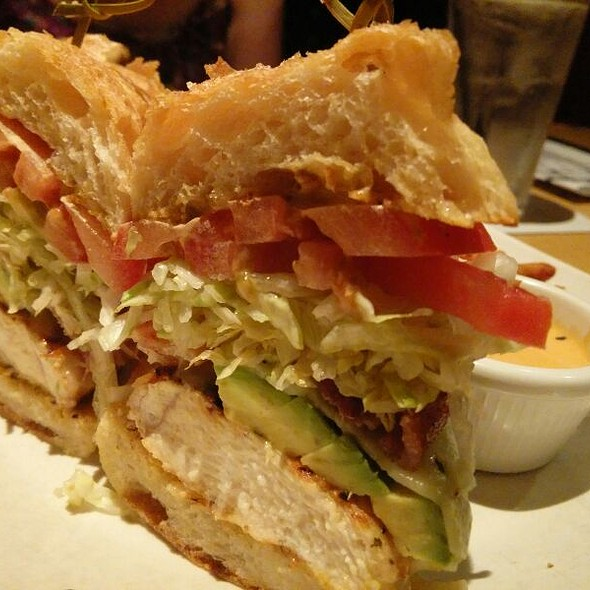 Chicken Avocado Club Sandwich - Kona Grill - Austin, Austin, TX