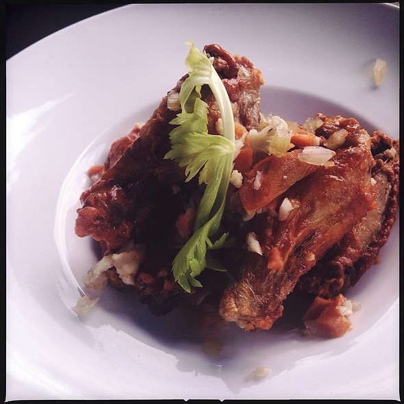 Buffalo Wings With House Made Giardiniera - Central Bistro and Bar, Denver, CO