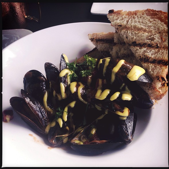 Mussels Spanish style - Central Bistro and Bar, Denver, CO
