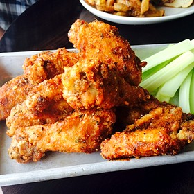 Spicy Chicken Wings - The Hollywood Tavern, Woodinville, WA