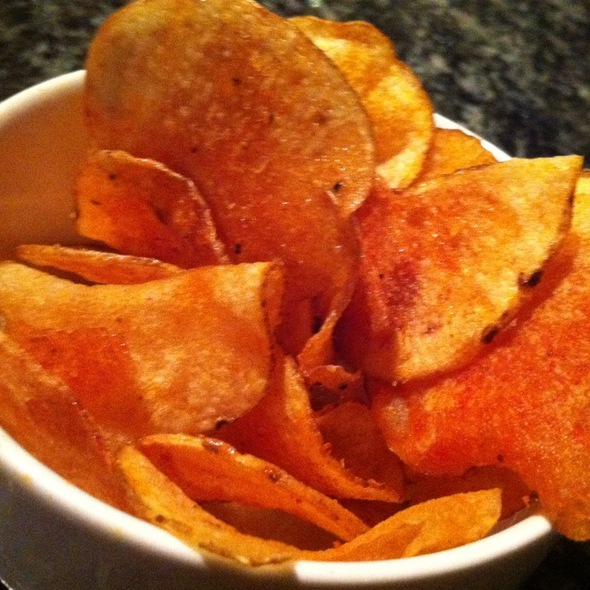 House Made Old Bay Potato Chips - Augustino's at the Augusta Marriott, Augusta, GA