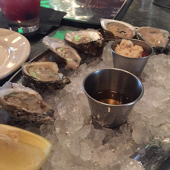 Assorted Oysters - Doc Crow's Southern Smokehouse & Raw Bar, Louisville, KY