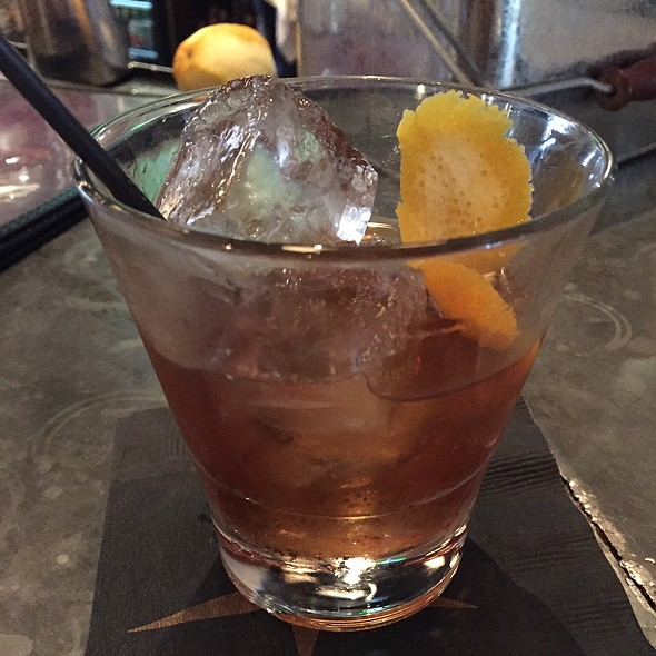Old Fashioned - Doc Crow's Southern Smokehouse & Raw Bar, Louisville, KY