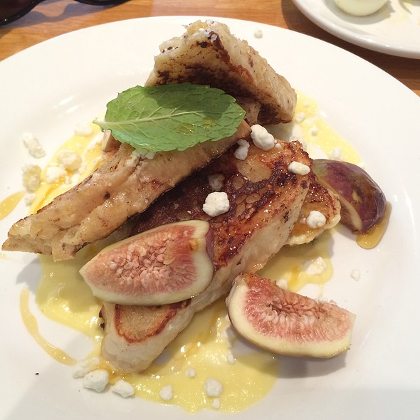 Goat Cheese And Fig French Toast - Kingsbury Street Cafe, Chicago, IL