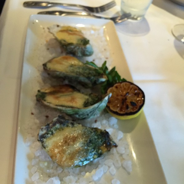 Oysters Rockefeller - Morton's The Steakhouse - Boston Seaport, Boston, MA