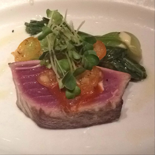 Seared Ahi Tuna - Cafe Annie (FKA RDG + Bar Annie), Houston, TX