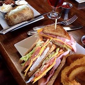 Clubsandwich - Mesa Street Grill, El Paso, TX