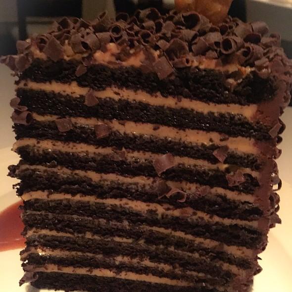 20 Layer Chocolate Peanut Butter Cake - Lavo, Las Vegas, NV
