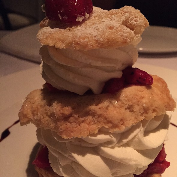 strawberry shortcake - Lavo, Las Vegas, NV